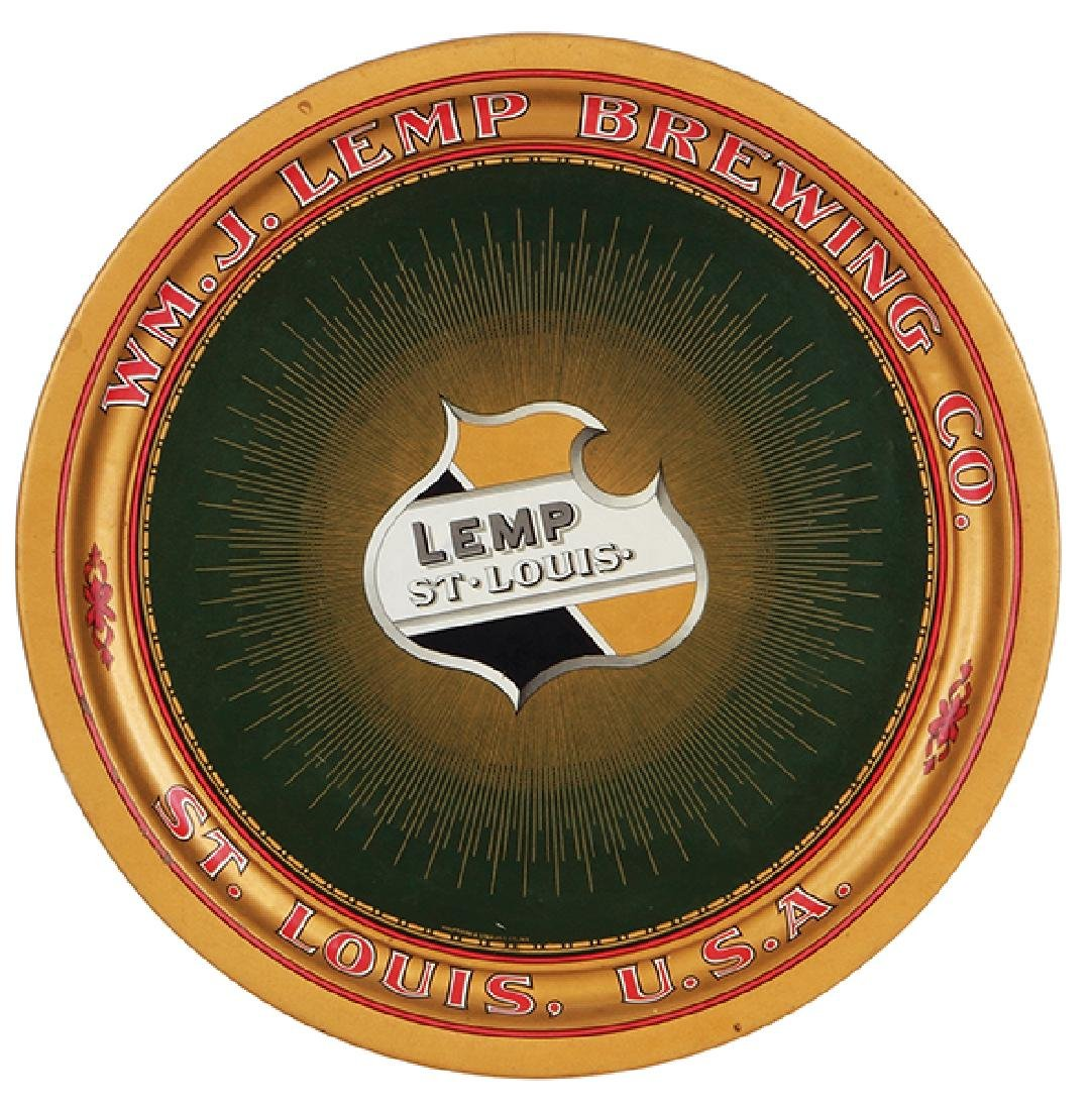 Wm. J. Lemp Brewing Co., tray,