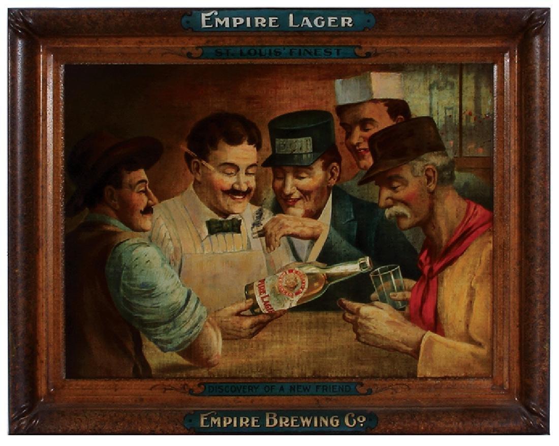 Empire Brewing Co. Lithograph