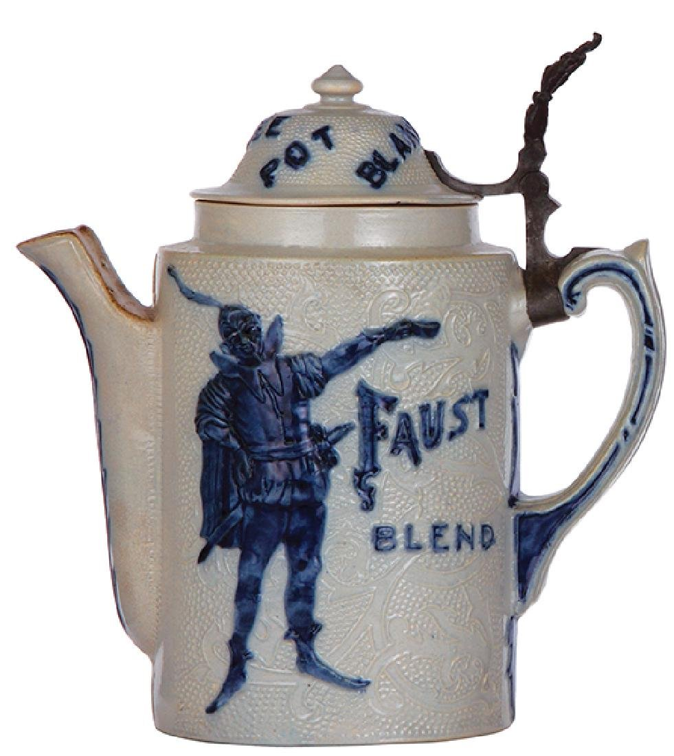 Stoneware coffee pot, Faust Blend - 2
