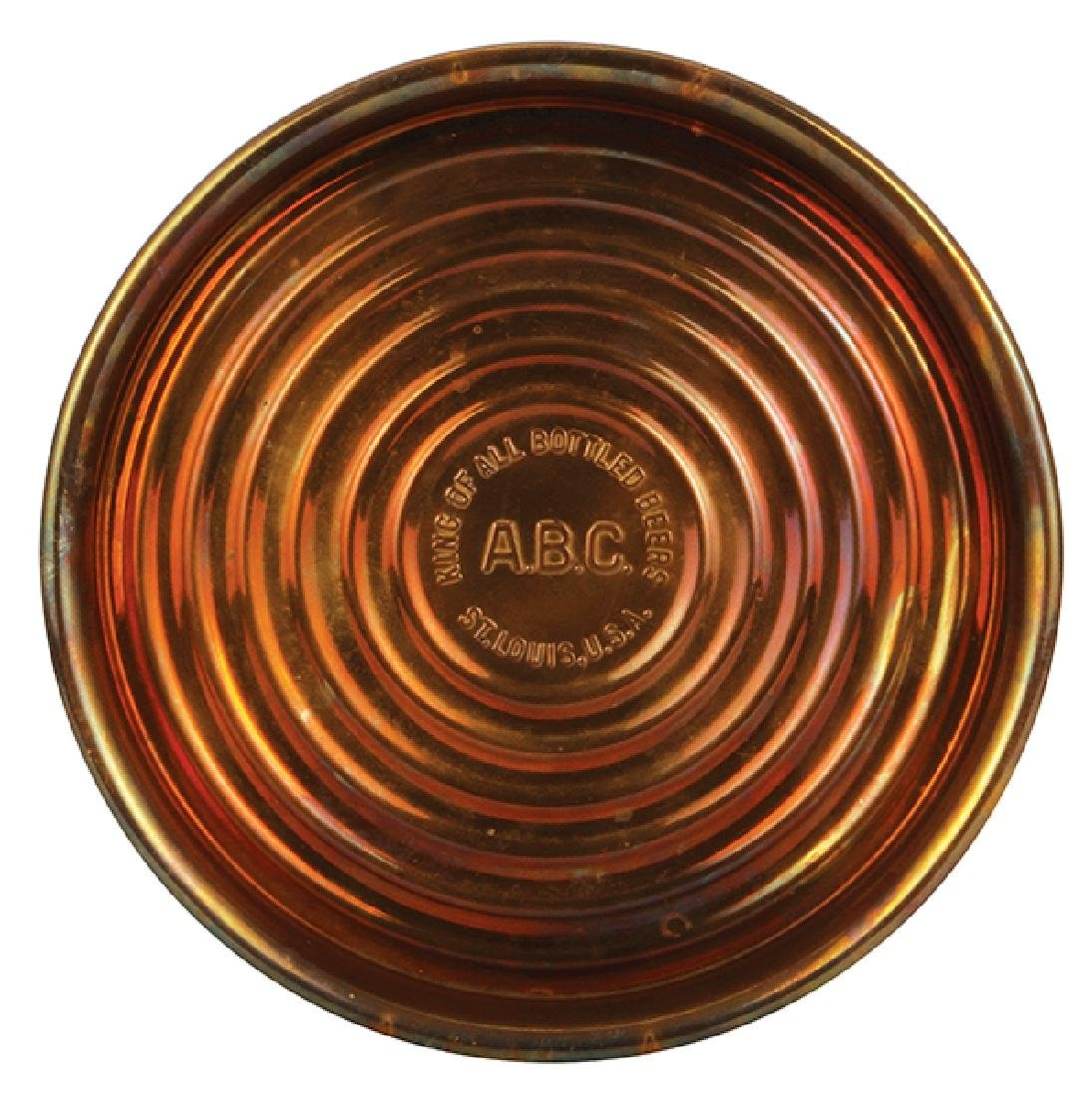 A.B.C. King of all Bottled Beers tray