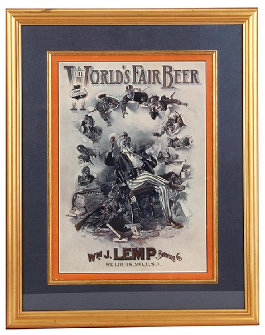 Wm. J. Lemp Brewing Co. Lithograph