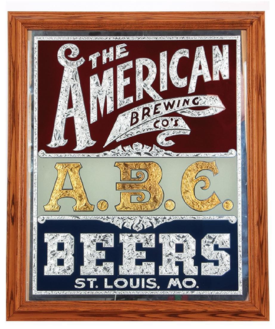 A.B.C. Beers, St. Louis mirror