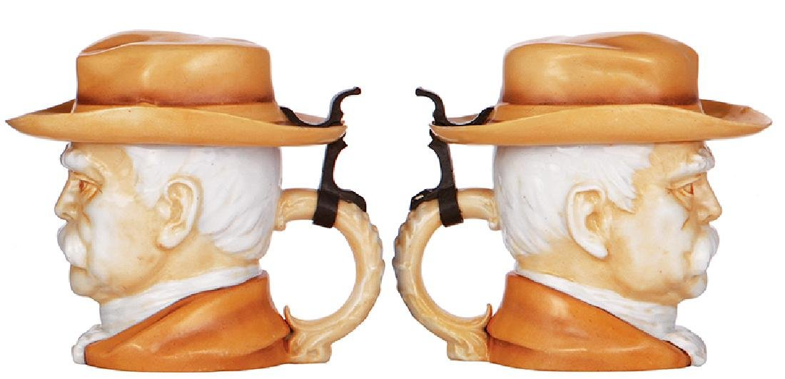 Two Character steins, Bismarck - 3