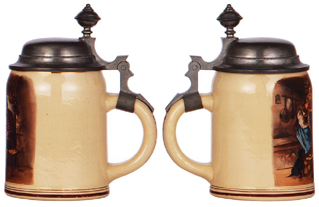 Two stoneware steins - 4