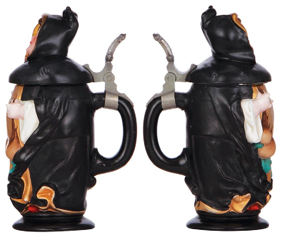 Two Character steins - 2