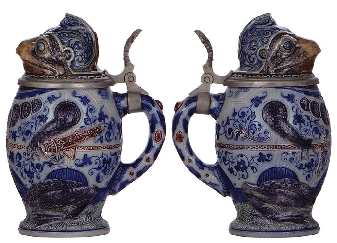 Two Character steins - 3
