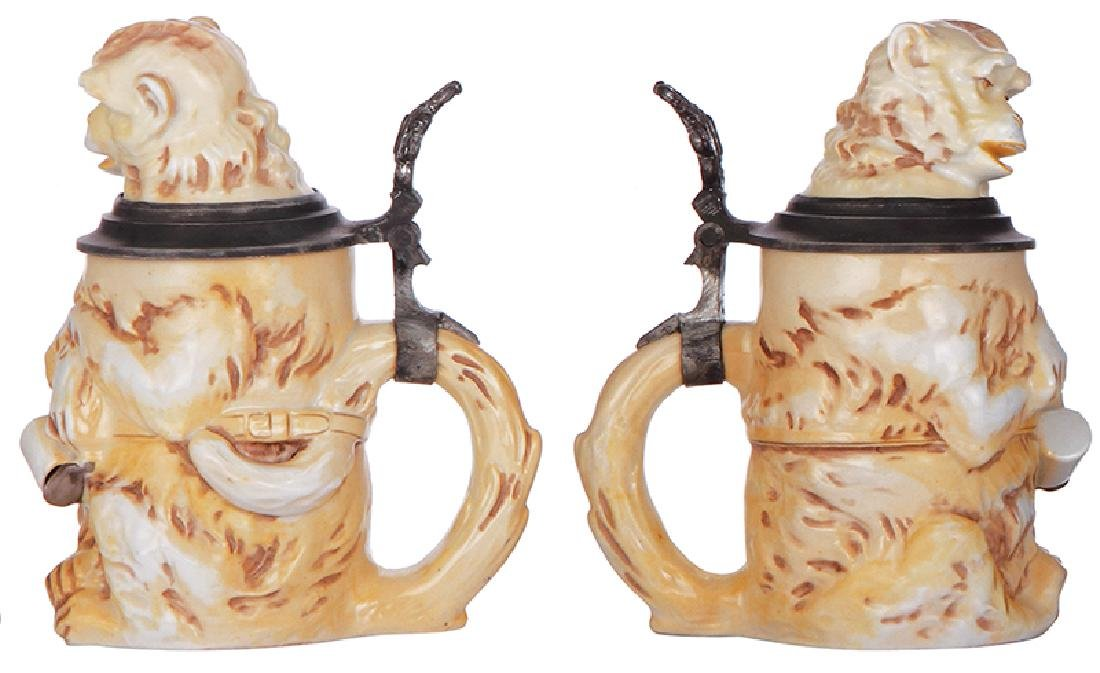 Three Character steins - 2