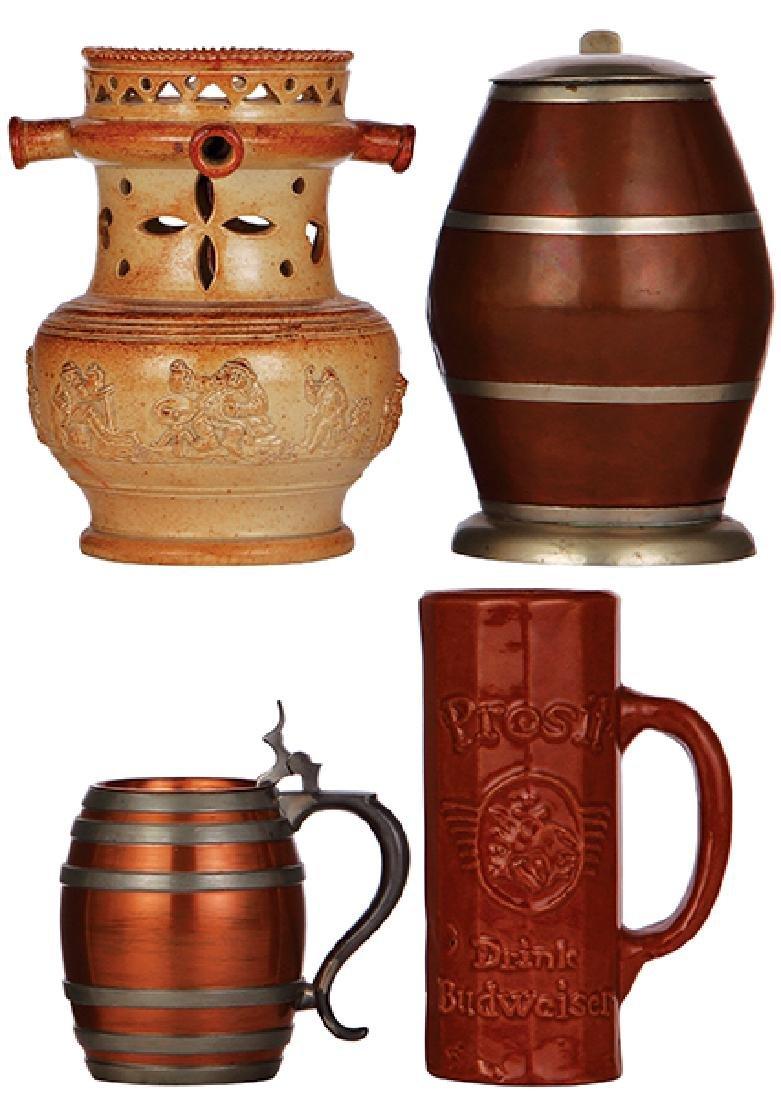 Four steins & mugs