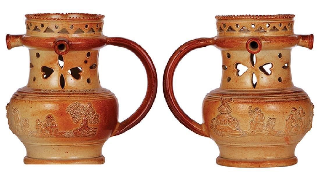 Four steins & mugs - 2