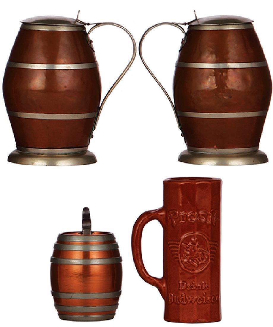 Four steins & mugs - 3