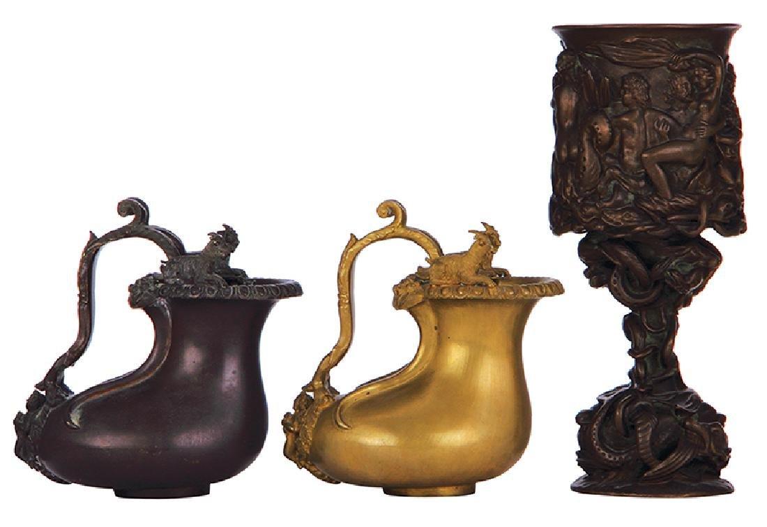 Three Greek vessels