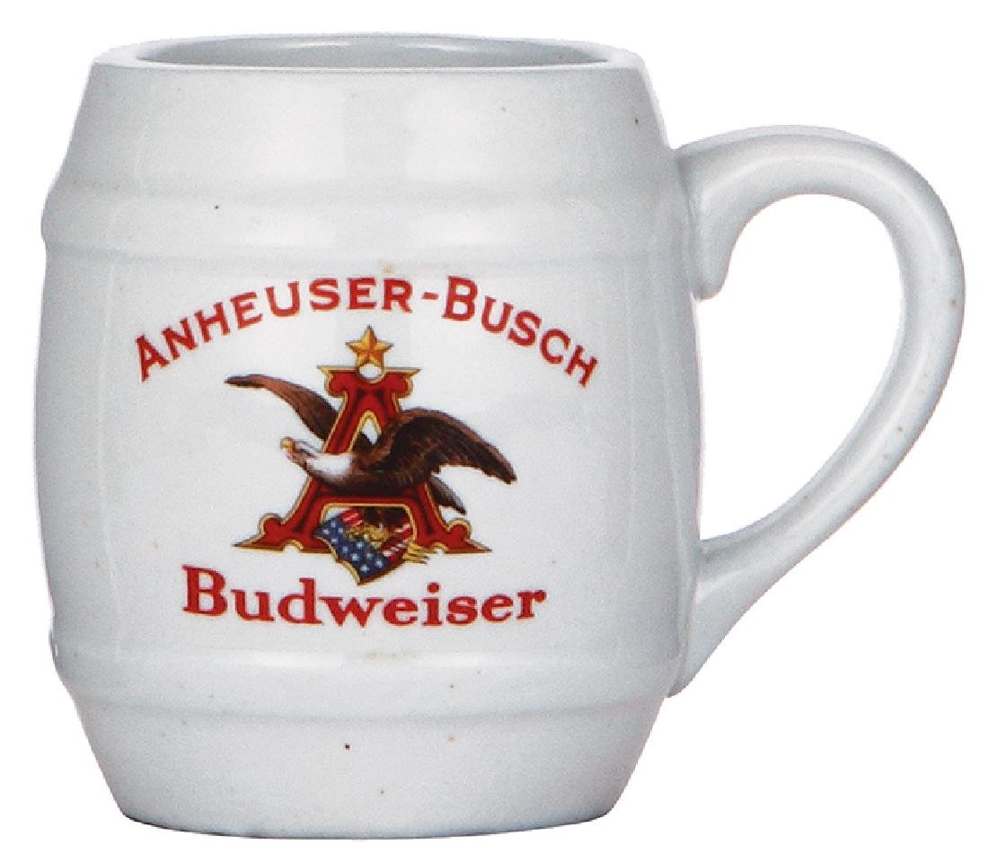 Porcelain mug, Anheuser-Busch