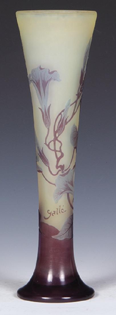 Daum Nancy cameo glass vase - 4