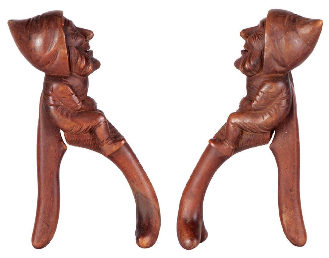 Black Forest wood carved nutcracker - 2
