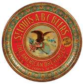The American Brewing Co. advertising tray