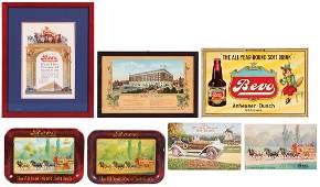 Seven AnheuserBusch Bevo items
