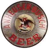 Anheuser-Busch wall mount lighted sign