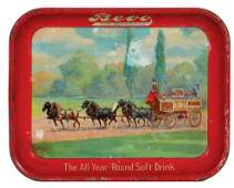 Anheuser-Busch advertising tray,