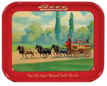 Anheuser-Busch advertising tray
