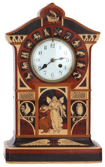 Mettlach clock