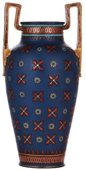 Mettlach vase
