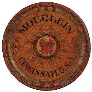 Moerlein, Cincinnati, U.S.A. advertising tray