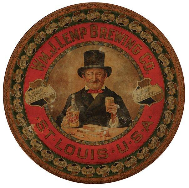 Wm. J. Lemp Brewing Co. advertising tray