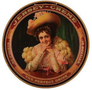 Jersey Creme advertising tray