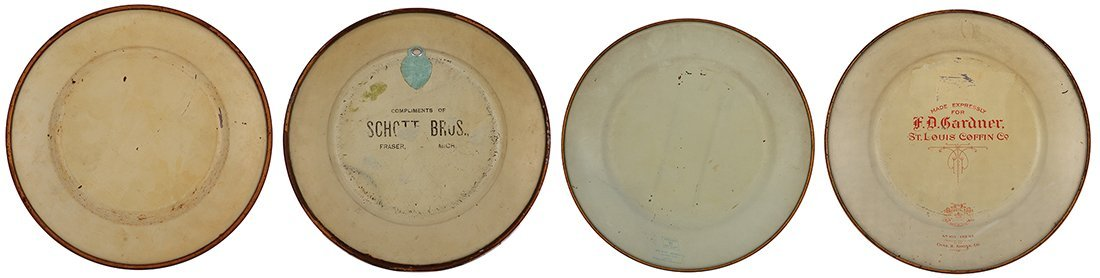 Four Dresden Royal Saxony & Vienna Art Plates - 3