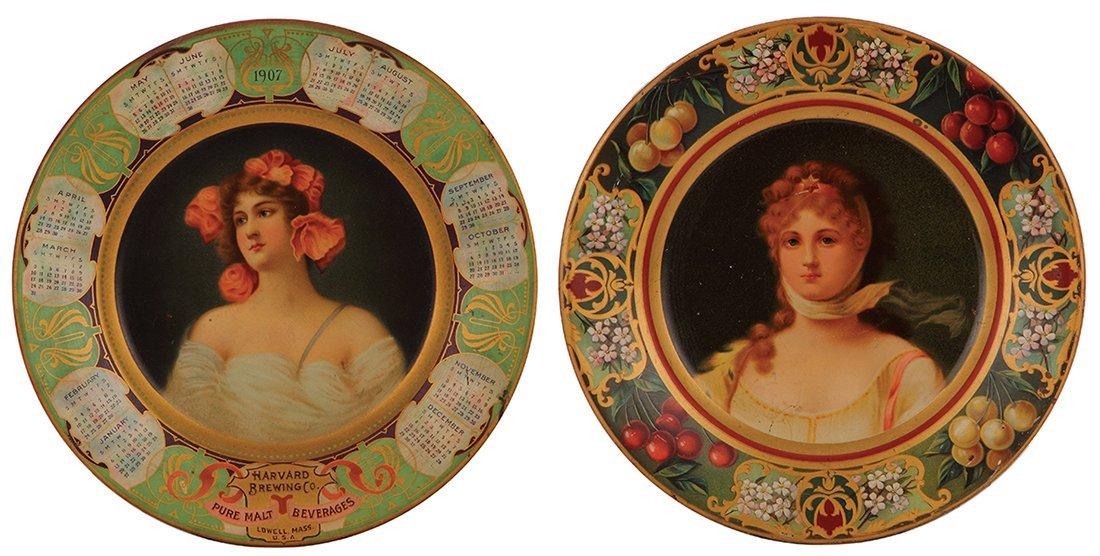 Four Harvard Brewing Co. & Vienna Art Plates - 2