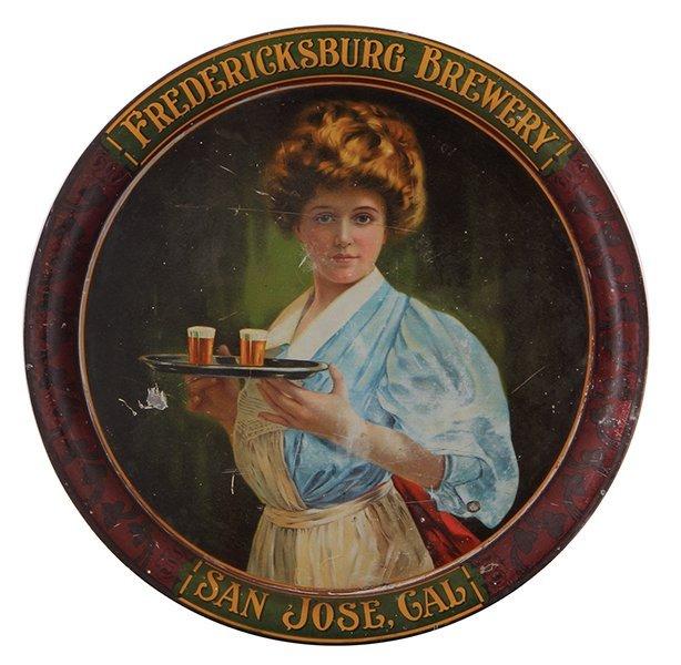 Fredericksburg Brewery,  advertising tray