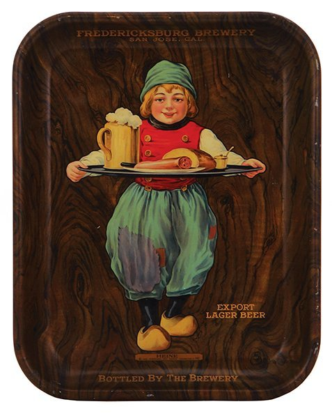 Fredericksburg Brewery advertising tray