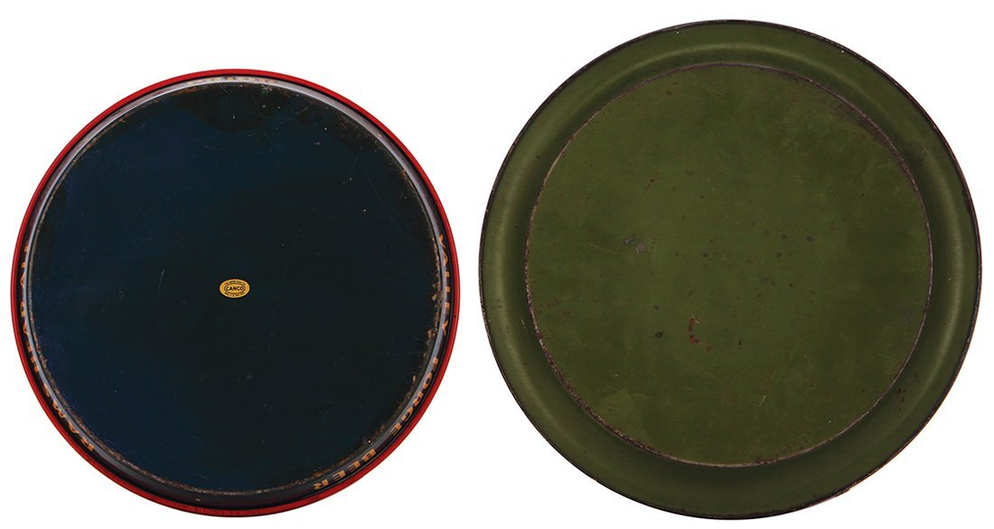Two advertising trays, Valley Forge Beer  … - 2