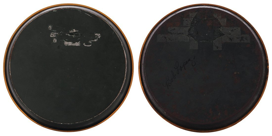 Two advertising trays, Olympia … - 2