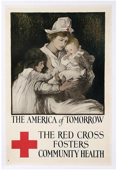 WW I Poster, The America of Tomorrow
