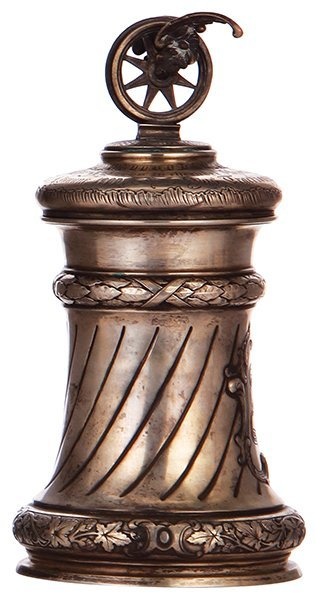 Silver tankard, A. Künne, Altena
