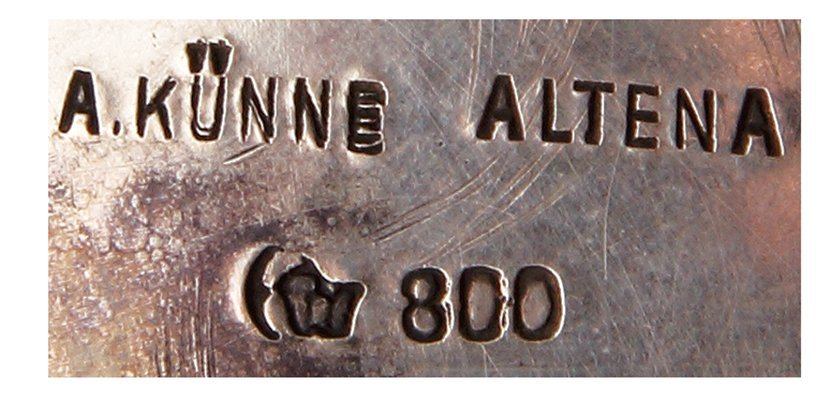 Silver tankard, A. Künne, Altena - 4