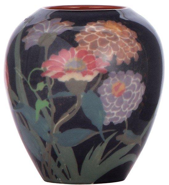 Rookwood pottery vase, 1921, Arthur Conant