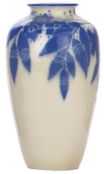Rookwood pottery vase, 1935, Elizabeth Barrett