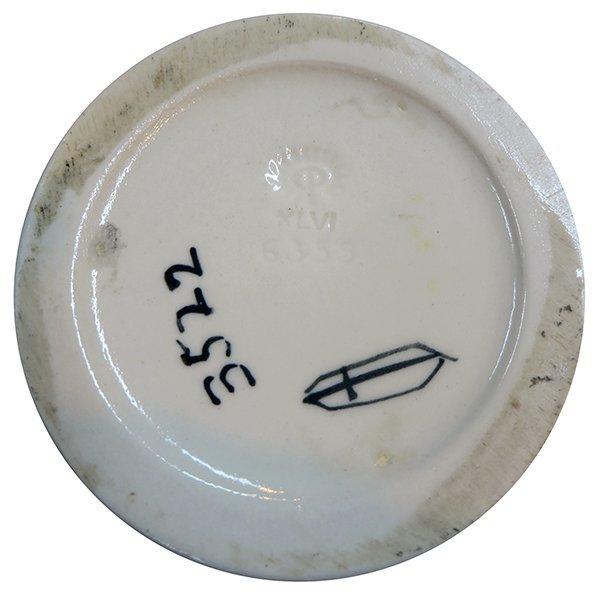 Rookwood pottery vase, 1946, Elizabeth Barrett - 3