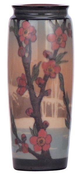 Rookwood pottery vase, 1919, Sara Sax