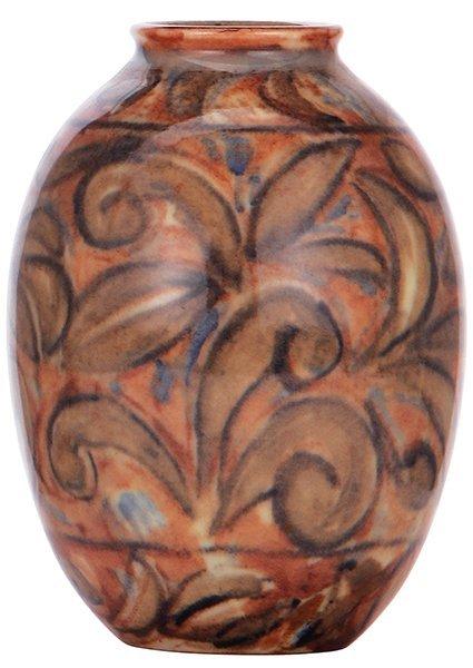 Rookwood pottery vase, 1945, Elizabeth Barrett