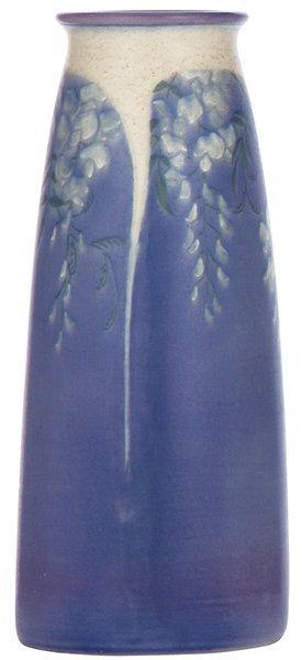 Rookwood pottery vase, 1914, Sara Sax