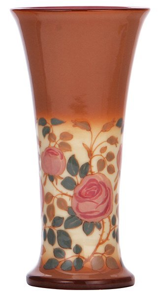 Rookwood pottery vase, 1923, Harriet E. Wilcox