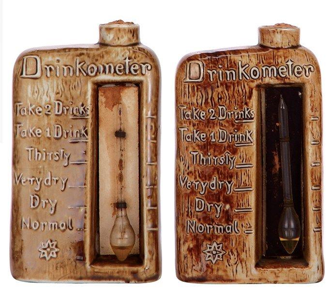Four flasks & bottle, marked Schäfer & Vater - 2
