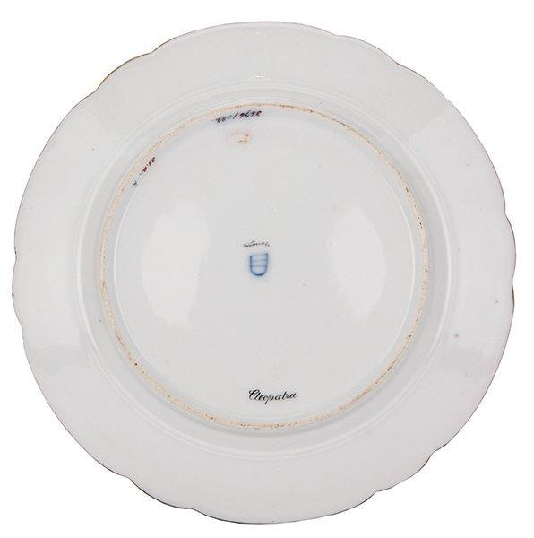 Royal Vienna porcelain plate, signed Werner - 2