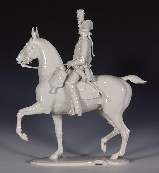Allach porcelain horse & rider, Offizier - 2
