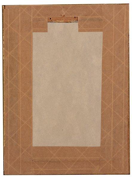 Porcelain plaque, woman - 2