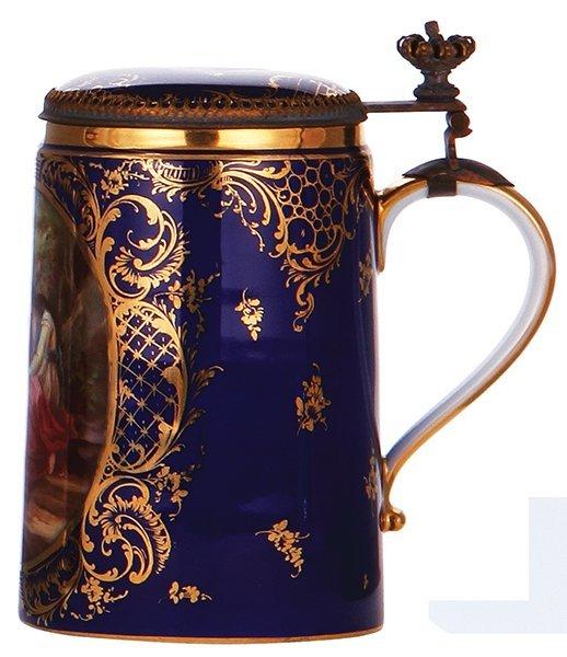 Royal Vienna porcelain stein - 2