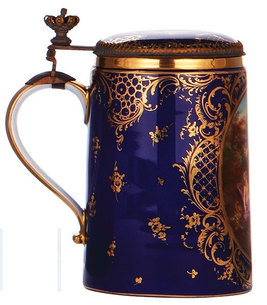 Royal Vienna porcelain stein - 3